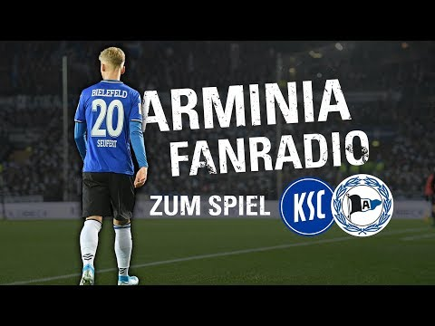 LIVE: Arminia Fanradio zum Spiel gegen Karslruhe