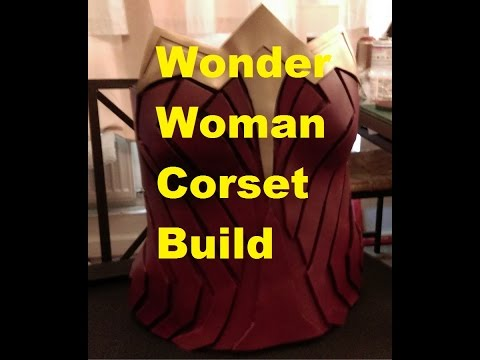 Finished builds #2 The Wonder Woman corset and spray can care