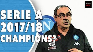 How Sarri Transformed Napoli Into Serie A Title Contenders | Football Tactics