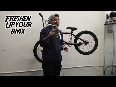 HOW TO MAKE YOUR BMX BIKE FEEL NEW AGAIN!