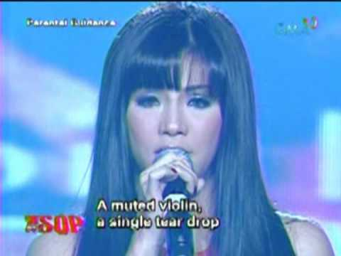 """The Asia's Songbird Sings A """"Ryan Cayabyab Medley"""" On The SOP Concert Stage"""