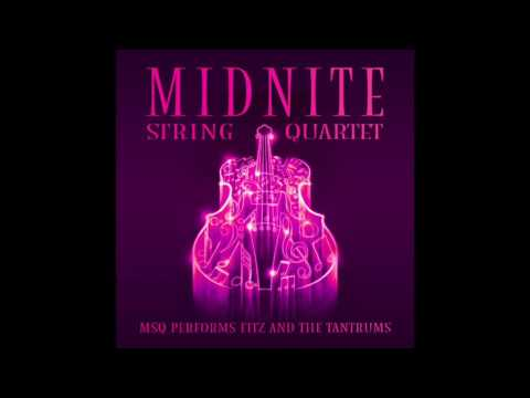 The Walker MSQ performs Fitz and the Tantrums by Midnite String Quartet