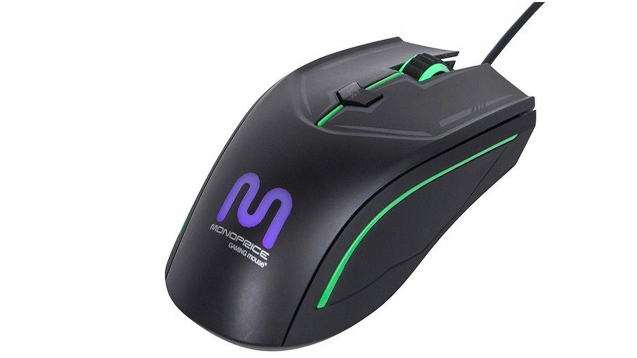 monoprice gaming mice