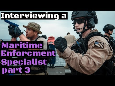 What to expect at a PSU as a Maritime Enforcement Specialist