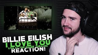 Billie Eilish | I Love You (Live) | Reaction!