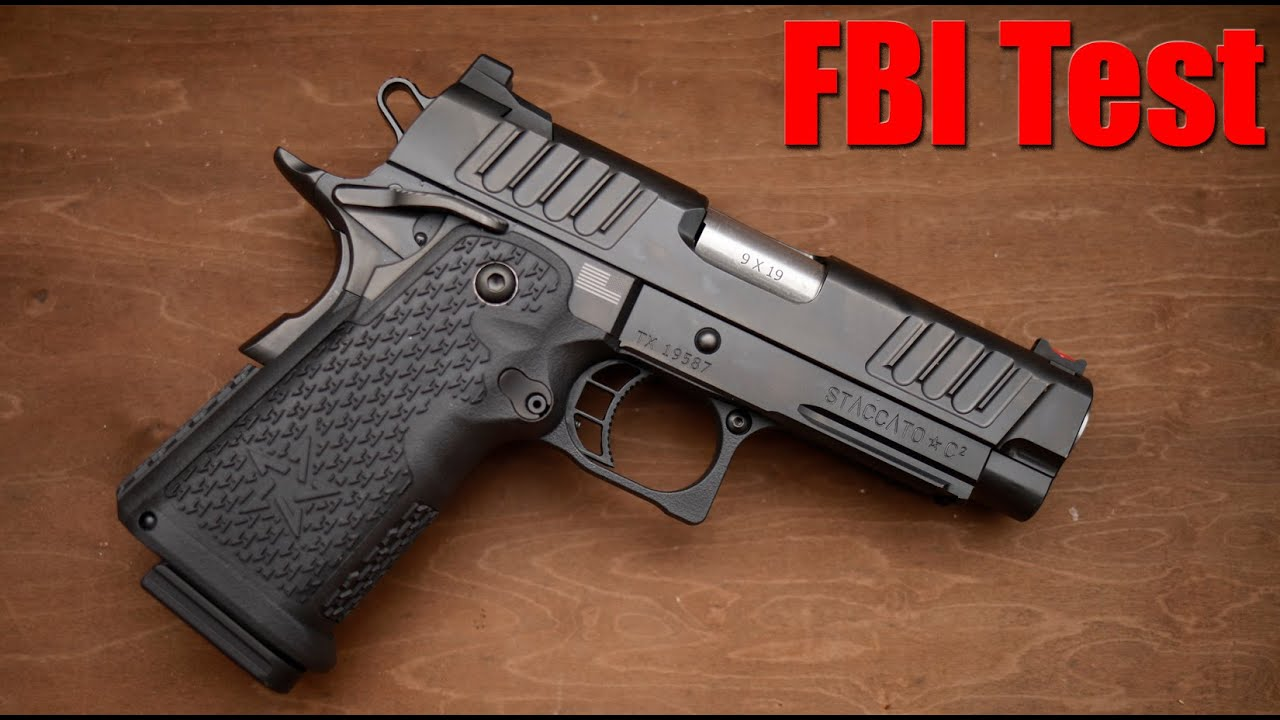 New FBI Marksmanship Qualification Test: Staccato C2