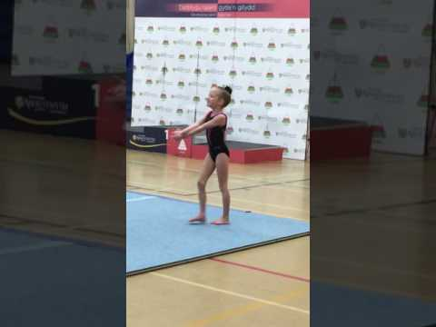 Urdd Gymnastics Ffion Johnson 2017