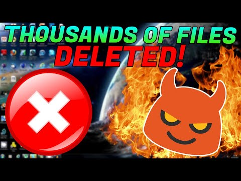 SCAMMER RAGES WHEN I DELETE THOUSANDS OF HIS FILES!