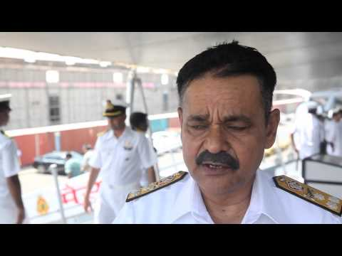 Video: Indian navy joins UAE for group exercises