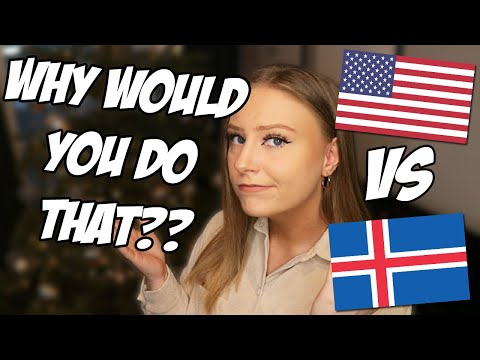 Things that are OK in USA but not in ICELAND