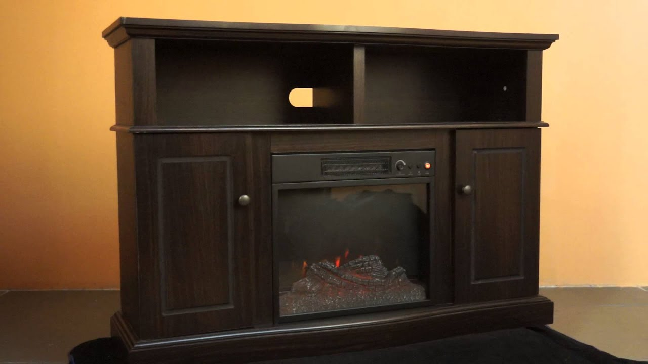 electric fireplace sears fireplaces mantel wall