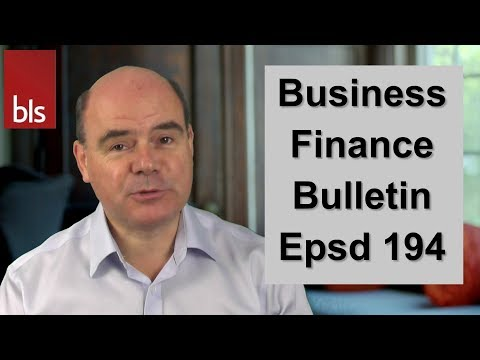 Business Confidence, Finance Admin Made Easier & Alternative Finance Usage - BFB Epsd 194
