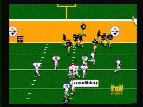 Madden '96 Genesis (Bills vs Steelers)