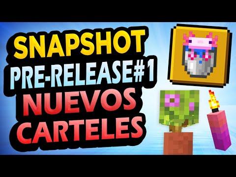 ✅ Minecraft 1.17 PRE-RELEASE 1 👉 Nuevos Carteles, Velas, Azaleas en Macetas y Más