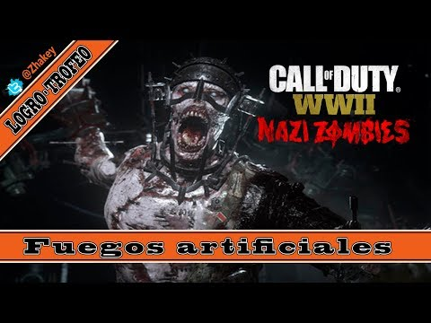 Call of Duty WWII - Fuegos artificiales - Logro / Trofeo [Zombis Nazis]