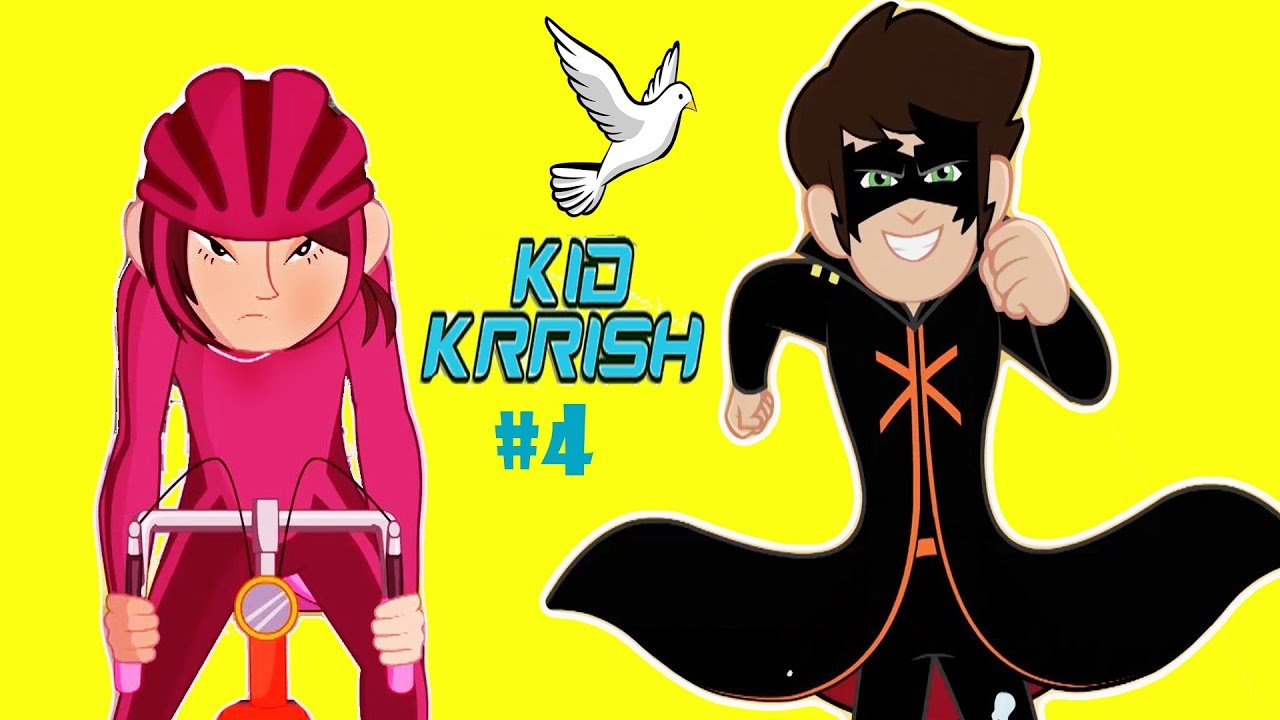 Download Kid Krrish Movie Cartoon | Cartoon Movies For Kids | Cycle Race For Kids | Part #4