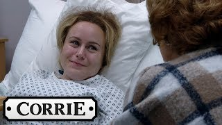 Gemma and Chesney Decide on Names for Their Babies | Coronation Street