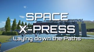 Planet Coaster - Space X-press - Paths