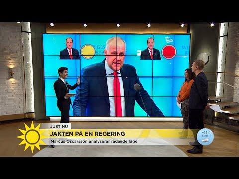 Marcus: Så röstar Vänstern om Löfven på fredag - Nyhetsmorgon (TV4)