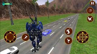 Flying Dragon Robot Simulator: Transformation War   Android Gameplay (Cartoon Games Network)