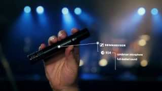 Sennheiser e 914 - Drum Condenser Microphone - Studio, Live Recording