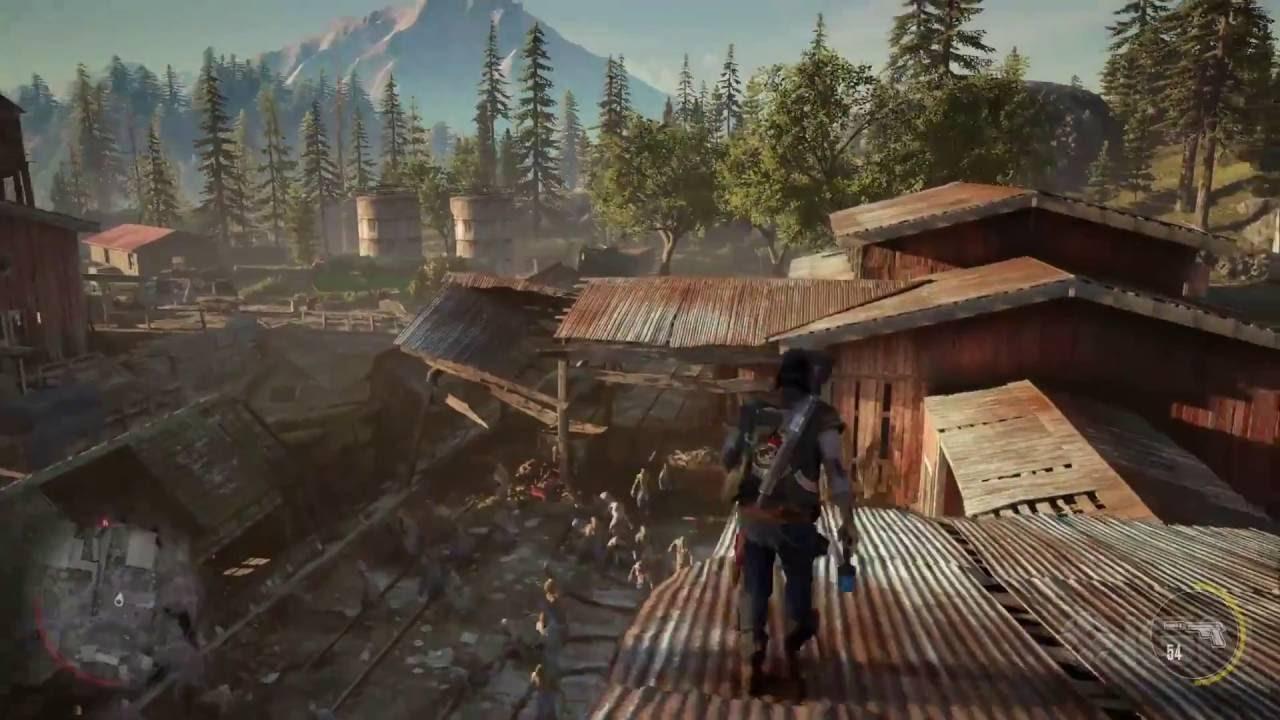Days Gone Gameplay Trailer E3 2016 Youtube