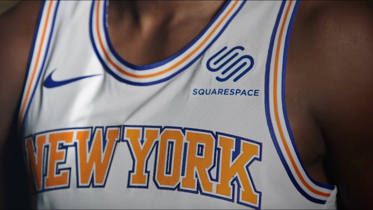 low priced 97546 7ddec Squarespace X Knicks Announce Signature Partnership