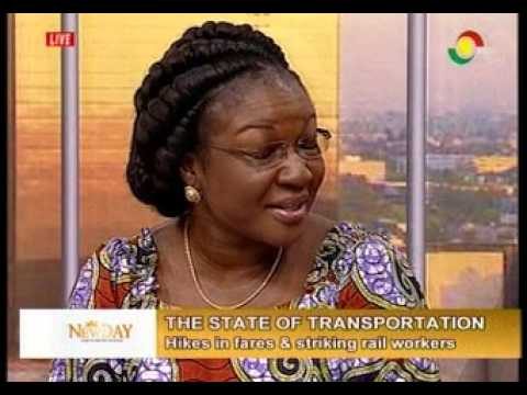 NewDay - Discussing the state of Transportation in Ghana - 11/1/2016