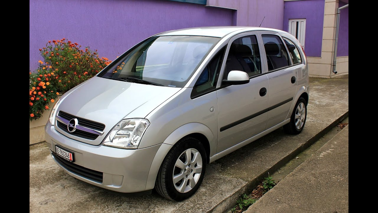 opel meriva 1 6 16v review automatic 2005 doovi. Black Bedroom Furniture Sets. Home Design Ideas