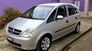Opel Meriva 1.6 16V Review Automatic 2005