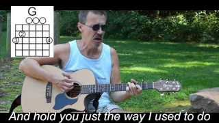 I Can't Help It If I'm Still in Love With You - Lyrics & Chords  Hank Williams Cover