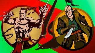 Shadow Fight 2 #35 игровой мультик для детей про БОЙ с тенью 2 детское видео игра от KID