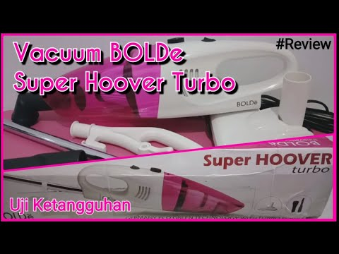 Vacuum Bolde Super Hoover Turbo - Unboxing Review