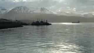 #Argentine Patagonie la ville de #Ushuaia en Terre de Feu
