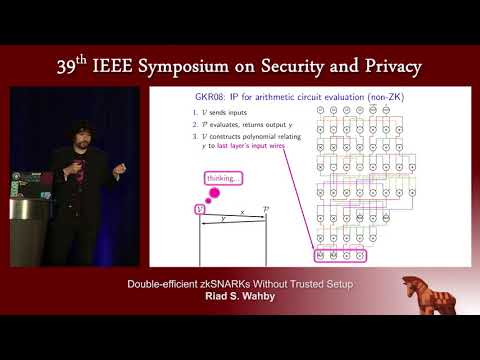 Double-efficient zkSNARKs Without Trusted Setup - Riad S. Wahby