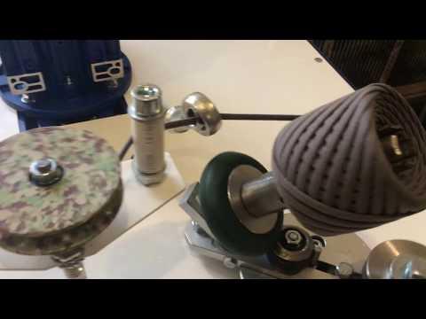 видео: Намотчик трикотажной пряжи, работа со счетчиком