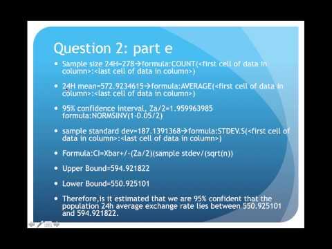 Quantitative analysis assignment 1