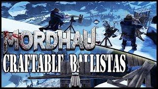 THREE ballistas on top of mountain peak! | MORDHAU [Builder ga…
