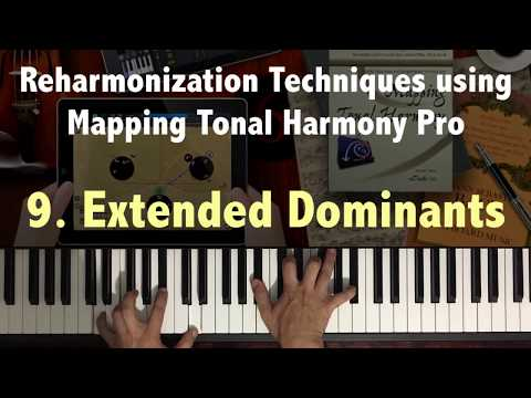 Reharmonization Techniques #9 Extended Dominants using Mapping Tonal Harmony
