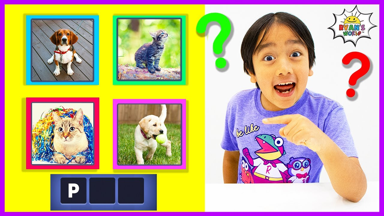 Ryan Plays Guess the Word Game!