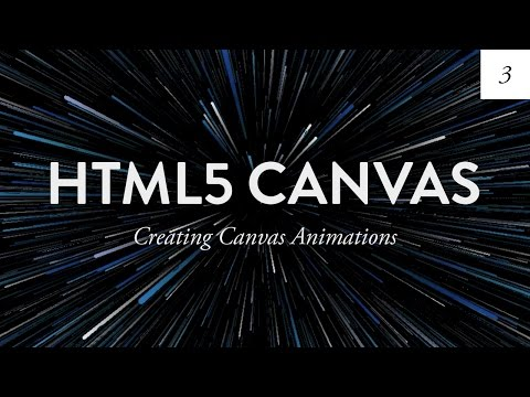 Animating the Canvas | HTML5 Canvas Tutorial for Beginners  - Ep. 3