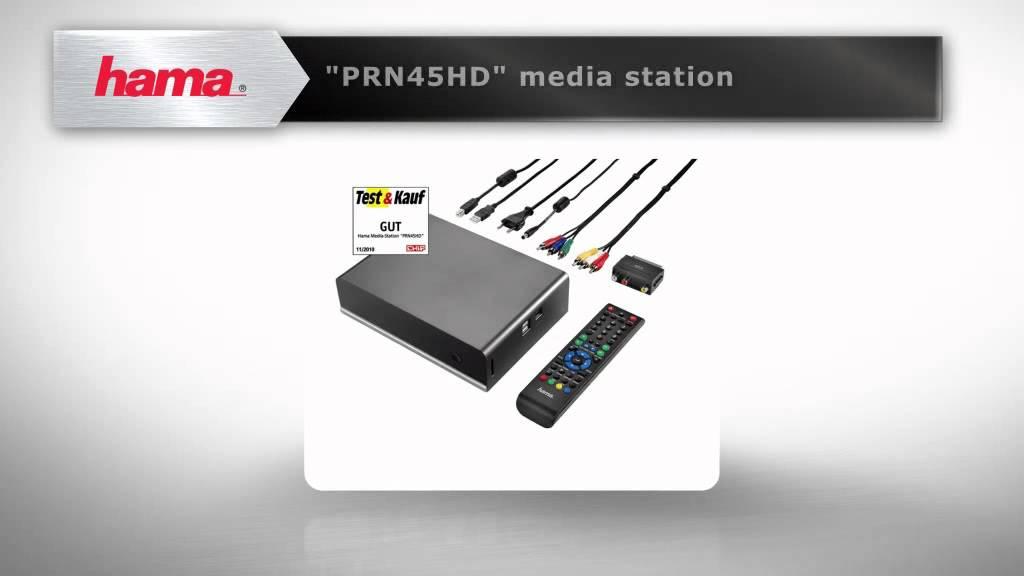 HAMA PRN45HD Media Station Driver Download