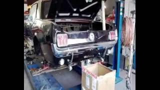 1966 Mustang l6 flowmaster 40