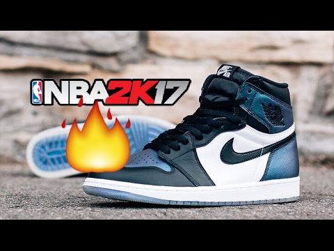 HOW TO MAKE JORDAN 1 CHAMELEON | NBA 2K17