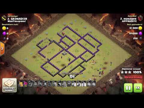 Clash of Clans #22 - WarTroopers vs Approdite