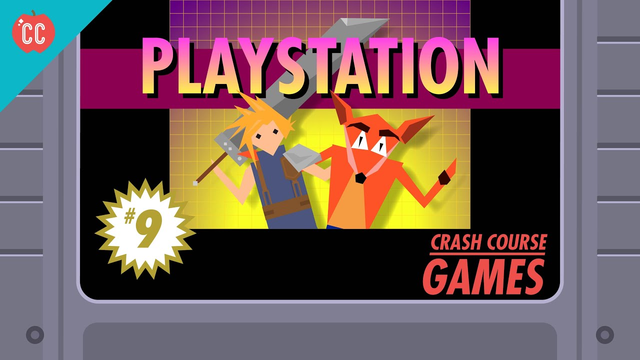 Playstation And More Immersive Video Games Crash Course