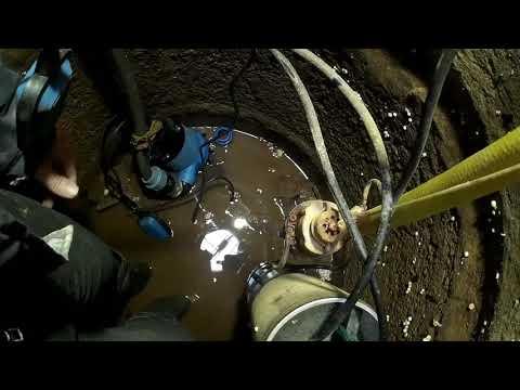 мало воды в колодце (60см) подбираем правильно насос и воды много