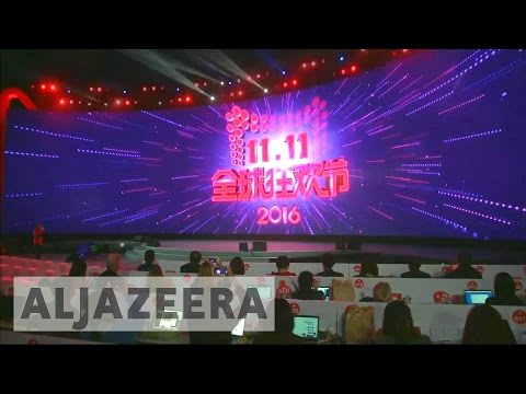 Singles Day: Alibaba closes in on record sales