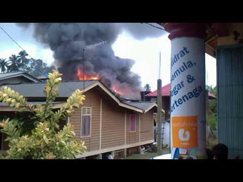 kebakaran di pengkalan chepa (kg baung) kota bharu