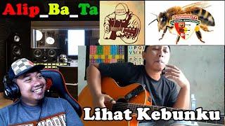#Alip_Ba_Ta - Lihat Kebunku - REACTIONS INDONESIA